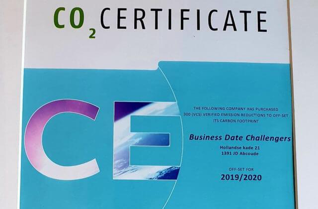 BDC werkt aan een schone toekomst